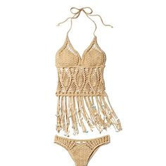 Perfect For A Pool Party—Or, Worn With Jeans, A Music Festival.  Super Cute!!