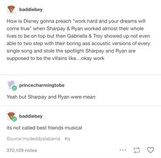 """Goofy…has had sex."""