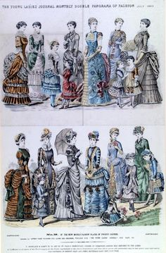 """""""Young Ladies Journal"""", July 1883."""