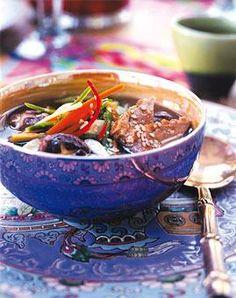 Rezept: Scharfe Suppe mit Ente
