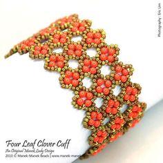 (5) Name: 'Jewelry : Four Leaf Clover Cuff