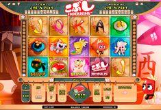 Si vous aimez la culture japonaise et la cuisine japonaise сette machine à sous est pour vous! Kobushi est développée  par ISoftBet doit interesser tous les amateurs de l'Orient exotique et son coloris intéressant. Les personnages sont présentés sous la forme de sushi et les autres aliments japonais de style de l'anime. Un grand nombre de caractéristiques sont accompagnées par les dessins animés de haute qualité! Jouez gratuitement sur Casino Hex.