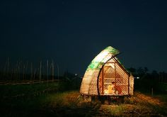 Plastic bottles, recycled plastic bottles, bamboo, bamboo architecture, plastic…