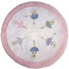 Ballerina Rug Round Circle Ballet Theme for Girls Room Ideas Bedroom, Bedroom Themes, Girls Bedroom, Bedroom Decor, Bedrooms, Ballerina Bedroom, Girl Room, Girl Nursery, Creative Kids