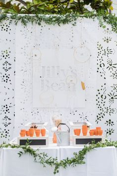 See how Jillian Harris is Celebrating Baby with this Gorg Garden Shower | Style Me Pretty Living | Bloglovin'