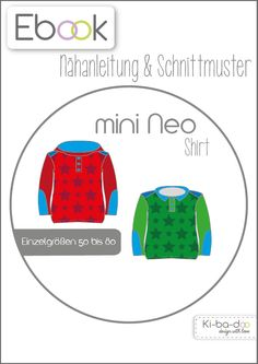Ebook mini Neo 50-80 - pattern and instruction as PDF, free of shipping costs