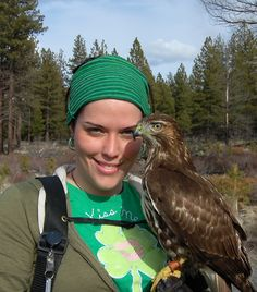 Rory - My Tiercel Red-Tailed Hawk - Falconry Falconer Lady, Women, Birds, Raptors, Bird of Prey, Feathers, Green, Lucky Irish, St. Patrick's Day, Love, Oregon, Forests, Hunt