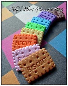Moule Fimo en silicone - Biscuit 2,7cm. : Matériel  Tricot par my-mini-sweet-shop sur ALittleMercerie