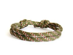 Mens Fashion, Nautical Rope Bracelet www.nadamlada.com