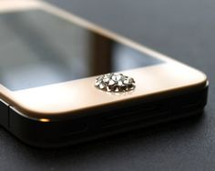 Swarovski Home Button for the iPhone