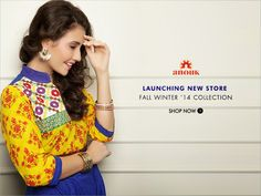 Launching: The ANOUK Fall Winter Collection with a BLEND of MYNTRA Discount Offers  http://dealsncoupo.blogspot.in/2014/08/launching-anouk-fall-winter-collection.html