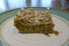 Low Carb Frosted Pumpkin Bars. Photo by Johnsdeere