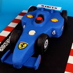 Race Car Cake Formula 1 Cake Formula One Cake