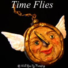 Time Flies Cookie by well kiss my frosting (me), via Flickr