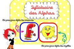 Syllabaire des Alphas French Class, Alphabet, Homeschool, Coding, Teaching, Education, Creative, Blog, Grand Jour