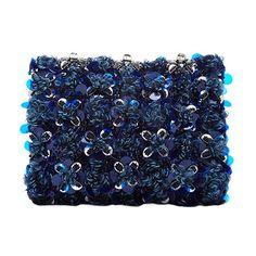 Oscar de la Renta crystal embellished petite evening bag, $1,230 modaoperandi.com