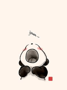 'Bostezo ~' by Panda And Polar Bear Panda Wallpaper Iphone, Cute Panda Wallpaper, Cute Disney Wallpaper, Kawaii Wallpaper, Polar Bear Wallpaper, Wallpaper Backgrounds, We Bare Bears Wallpapers, Panda Wallpapers, Cute Cartoon Wallpapers
