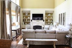 Tiffany D: Family Room Changes. Has to be one of my favorite bloggers and her home is just amazing!