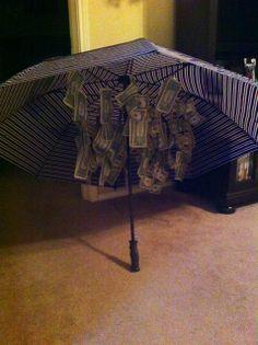 Bridal Shower gift: Rainy Day fund :)
