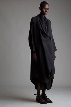 Vintage Issey Miyake Linen Coat Designer Vintage Clothing Minimal Fashion