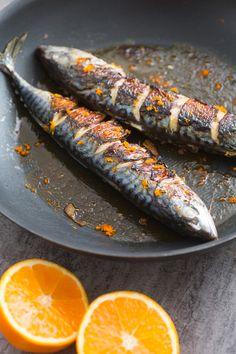 No Salt Recipes, Fish Recipes, Seafood Recipes, Gourmet Recipes, Cooking Recipes, Healthy Recipes, Cooking Fish, Fish And Meat, Fish And Seafood