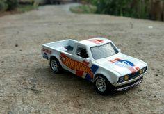 Hotwheels Datsun 620 custom decals