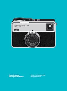 Kodak Instamatic 233 by Kenneth Grange
