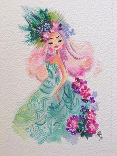 Hawaiian Princess - Liana Hee