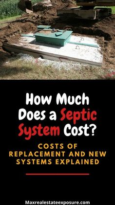 Real Estate Articles, Real Estate Information, Real Estate Tips, Home Selling Tips, Septic System, Septic Tank, Real Estate Investing, Estate Homes, Real Estate Marketing