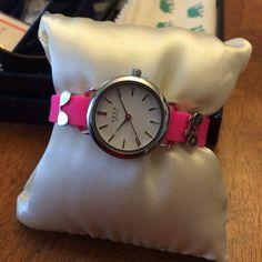 Click my link to order!  Timekeys are back today!!! #watch #keytomyheart #keepyourstory ##keepcollective #keepersandkeys #key #bike #aviators #sunglasses #sun #summer #timekey #pink #bracelet #armcandy