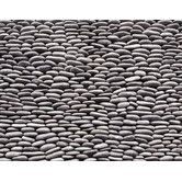 "Found it at Wayfair Supply - Standing Pebbles 12"" x 4"" Interlocking Mesh Tile in Cascade"