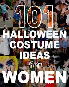 101 Halloween Costume Ideas For Women