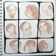 Faces | Carla Sonheim