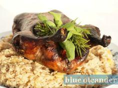Roasted duck Piemontese style