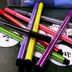 Stabilo Disney Junior, Stationary, Pencil, Writing, Reading, Colors, Tableware, Stationery Shop, Artists