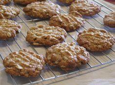 Bill Granger's Anzac Biscuits. Recipe here: http://www.nigella.com/recipes/view/anzac-biscuits-2191