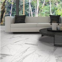 Versilia Statuario Polished 12x24 Porcelain Tile | TileBar.com.