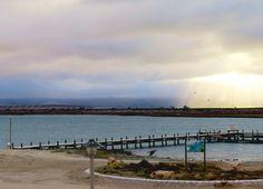 Misty clouds at dusk - Laaiplek, Velddrif Dusk, West Coast, Cape, Clouds, Beach, Outdoor, Mantle, Outdoors, Cabo