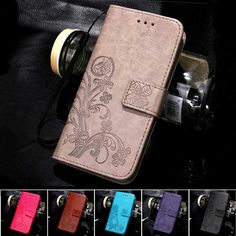 Four Leaf Clover Case for Samsung Galaxy S3 Cover Samsung S3 Mini Flip Wallet Case I9300 I8190 Phone Coque Hoesjes PU Leather