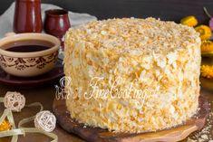 Napoleon, Food Photo, Vanilla Cake, Macaroni And Cheese, Goodies, Food And Drink, Ethnic Recipes, Desserts, Kitchens