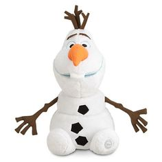 Disney Store Large/Jumbo 22 Olaf the Snowman Plush Stuffed Toy Doll from Frozen, Polyester H (seated, H with decoration) Imported Brand new w/tag, Puppets Frozen Disney, Olaf Frozen, Disney Frozen Olaf, Frozen Snowman, Frozen Dolls, Olaf Snowman, Disney Magic, Disney Plush, Disney Toys