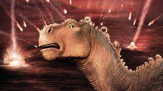 Watch Dinosaur 123 Movies Online - An orphaned dinosaur raised by lemurs joins an arduous trek to a sancturary after a meteorite shower destroys his family home. Disney Dinosaur, Dinosaur Movie, Dinosaur Art, Disney Movies, Disney Pixar, Disney Characters, Walt Disney Animation Studios, Prehistoric Creatures, Original Movie