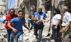 Air strikes, rebel fire kill 19 in…: Air strikes and barrel bomb attacks killed 16 civilians in rebel-held parts of Aleppo province on…