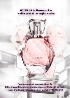Apă de parfum Avon Femme  Broșura 4 aici---https://www.facebook.com/ruxi.reprezentantavon/media_set?set=a.1427583624152276.1073741835.100007019555015&type=3