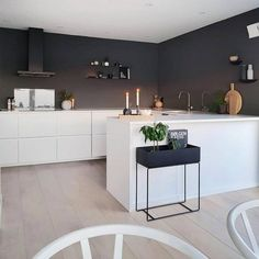 U Shaped Kitchen Open Plan Kitchen Living Room, Kitchen Room Design, Design Room, Küchen Design, Kitchen Interior, New Kitchen, Kitchen Decor, U Shape Kitchen, Small U Shaped Kitchens