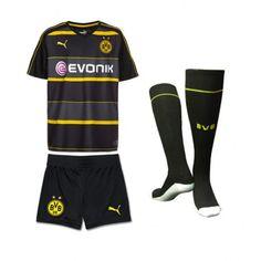 7befd50d5a Camisetas del Borussia Dortmund para Niños Away 2016 2017 - Camisetas de  Futbol Baratas
