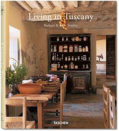 """""""Living in Tuscany"""" Taschen : le charme de la Toscane fait toujours effet, ce livre dévoile des intérieurs italiens et tellement typique de cette région !"""