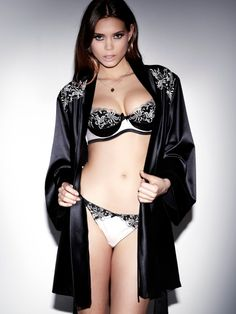62289cf274 Aurelia Gold Black Robe - Get Free Delivery on all orders of   Ann Summers