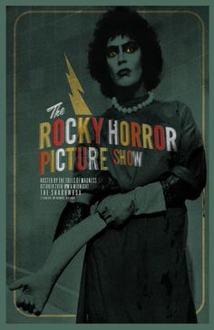 The Rocky Horror Picture Show by Adam Juresko #movies #posters