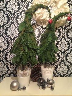 DIY Weihnachtsbäume für das Kinderzimmer...